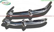 Volkswagen Karmann Ghia bumper kit type Euro stainless steel