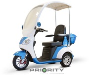Luxury Oversized Mobility Scooter with Windshield